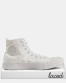 Converse Men's Chuck Taylor All Star SMU Hi White Mono