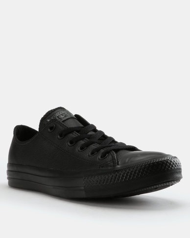 Converse Black Chuck Taylor Ii Crafted Leather Women's