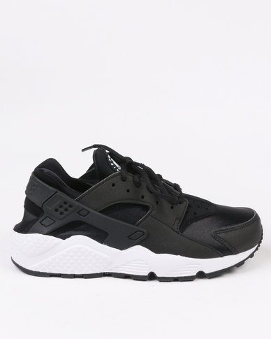 the latest 6d2a7 e5606 Nike Womens Air Huarache Run Sneakers Black | Zando