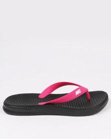 Nike Womens Solay Thong Pink