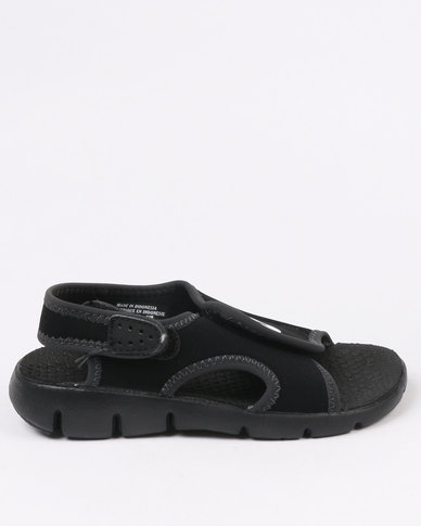 1f7dd1386 Nike Sunray Adjust 4 Sandal PS/GS Black | Zando