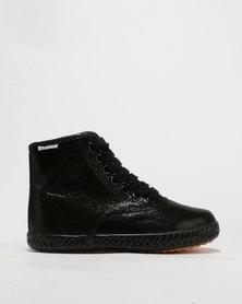 Tomy Original Metalic Hi Top Sneaker Black