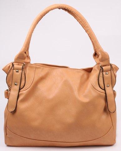c12ff7867c6e Marie Claire Ladies Shopper Bag Cognac