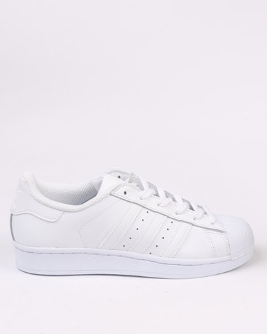 8f350cd1c97 adidas Superstar Foundation Sneakers White
