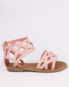 Pretty Feet Girls Sandals Pink
