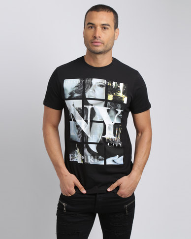 Smith & Jones NY City T-Shirt Black