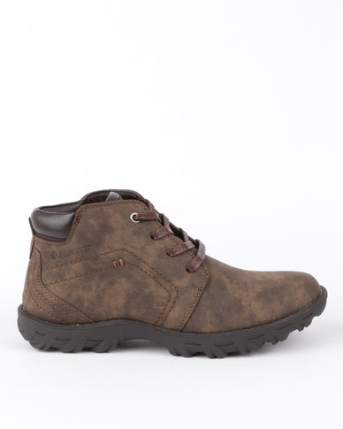 Urbanart Track 5 Nub Boot Brown