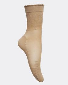 Falke Bloom Anklet Socks With It Nude