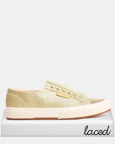 classic lace-up sneakers - Metallic Superga IFLQC3aX