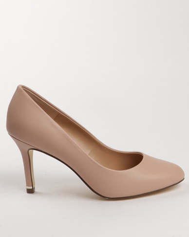 2fbb396a505 Call It Spring Tukums Heel Pumps Nude