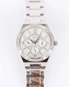 Guess Envy Watch Silver-Tone