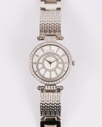 Guess Muse Watch Silver-Tone