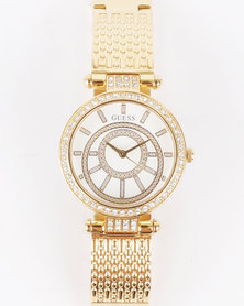 Guess Muse Watch Gold-Tone
