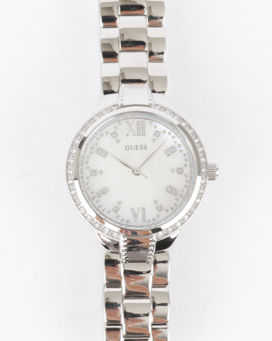 Guess Mademoiselle Bracelet Watch Silver-Tone