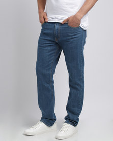 Utopia Straight Leg Denim Mid Blue