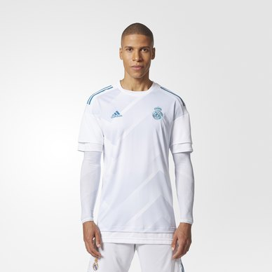 Real Madrid Home Authentic Pre-Match Jersey