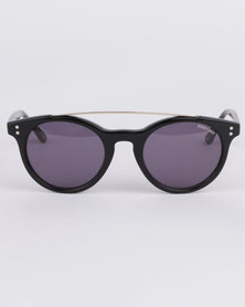 Sissy Boy Round Sunglasses Black