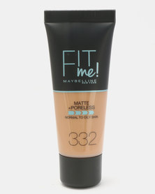 Maybelline Fit Me Matte Poreless 332 Golden
