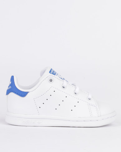 17b6d5393a120 adidas Stan Smith Baby Original Sneaker White   Blue