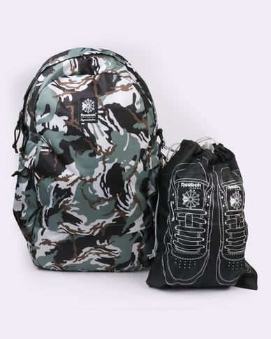 Reebok Classic Foundation JWF Backpack Camo