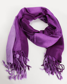 Joy Collectables Ombre Large Scarf Purple