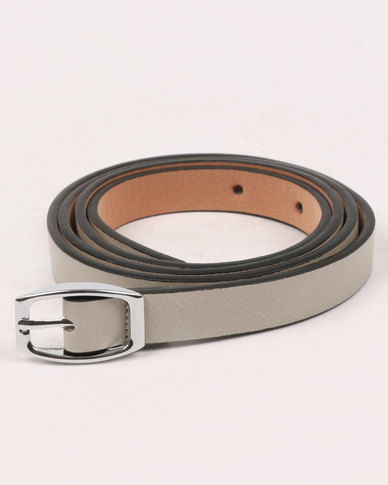 Joy Collectables Skinny Belt Cream