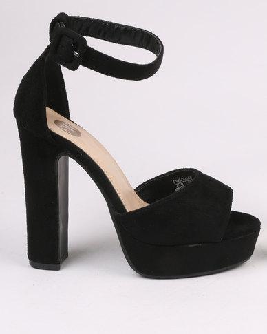 aad40f31023 Footwork Leighton Block Heel Platform Sandal Black