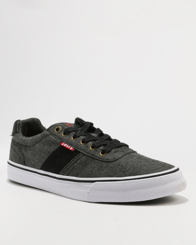 clearance outlet locations Levi's ® Levi's® Miles Chambray Low Cut Sneaker Black buy cheap amazing price YEB37c