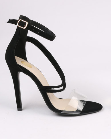 Footwork Porshia High Heel Sandal Black