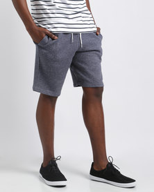 New Look Basic Grindle Shorts Blue Pattern