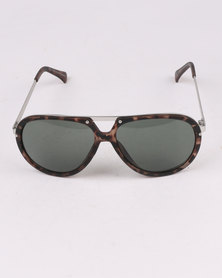 New Look T-Bar Tortoise Aviators Multi