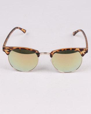 28ab89a6a65 New Look Rob Tortoise DJ Master Sunglasses Brown