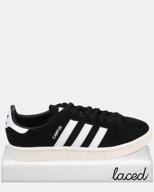 sports shoes 00055 6976f adidas Campus Black