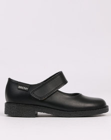 Bronx Women Interval School Shoe Black