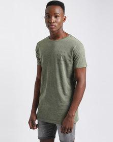 Silent Theory Continuum T-Shirt Khaki