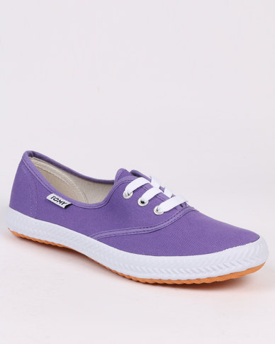 Tomy Takkies Original Lace Up Purple