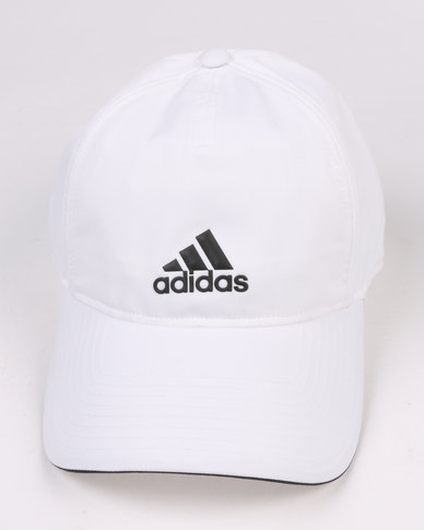 d59ee0b96ae adidas Performance Classic 5 Panel Climalite Cap White
