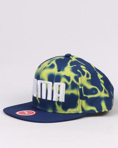 sneakers for cheap d17b3 9efa8 Puma ESS Flatbrim Cap Blue   Zando
