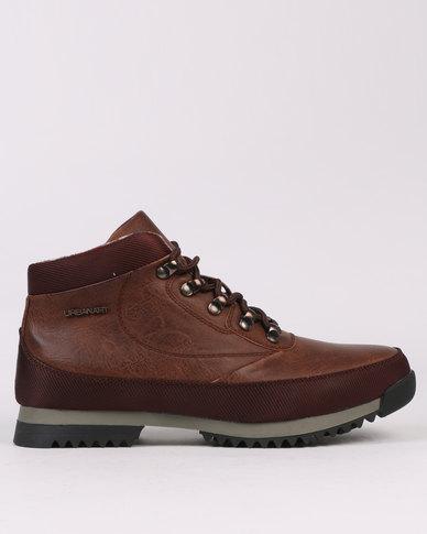 Urbanart Crocco 4 Wax Boot Brown