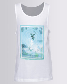 Billabong Boys Above Singlet White