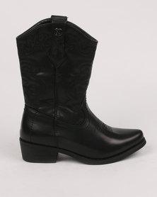 Zah Girls Bella Boot Black