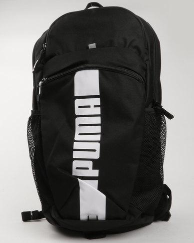 cb68fce85fad Puma Performance Deck Backpack II Black-Puma White
