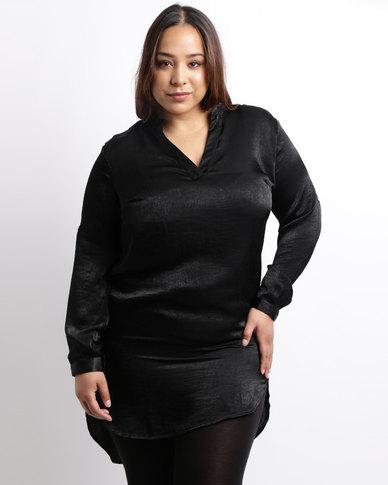 Utopia Plus Peachskin Shirt Black