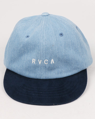 RVCA Phasing Peak Cap Blue Multi
