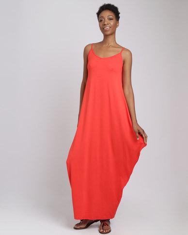 Utopia Harem Maxi Dress Chilli Red