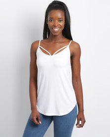 Utopia Strappy Cami White