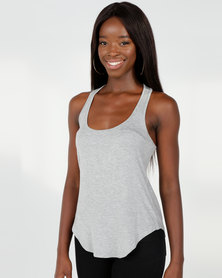 Utopia Easy Vest Grey Melange