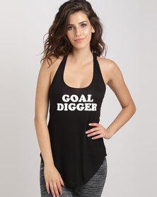 Utopia Goal Digger Vest Black
