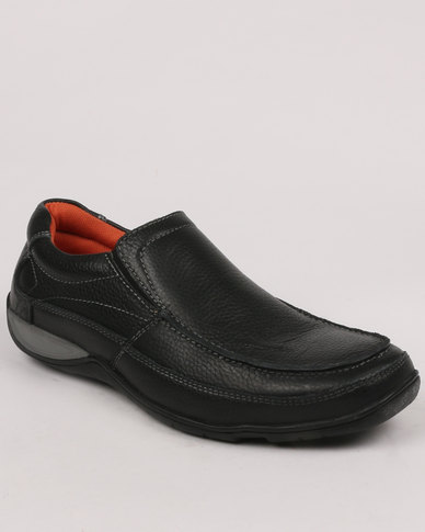 Step On Airs Sloan Casual Slip Shoe Black