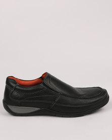 Step On Airs Sloan Casual Slip Shoe Black